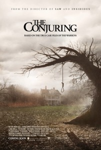 Foto: Filmas The Conjuring plakāts.